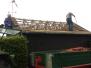 Arbeitseinsatz Dachziegel