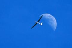 Mondflugzeug